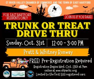 trunk or treat drive through