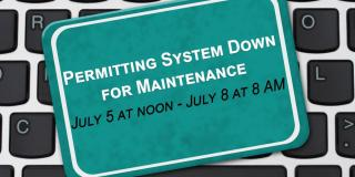 permitting system down