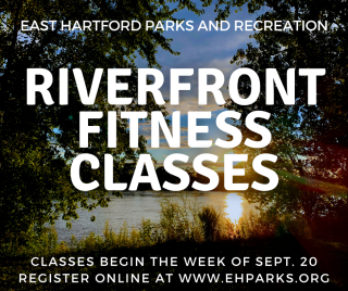 Riverfront Fitness Classes Graphic