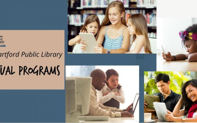 virtual programs at the east hartford library