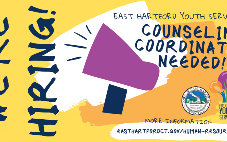 EHYS is Hiring a Counseling Coordinator. Click for information and link to application.