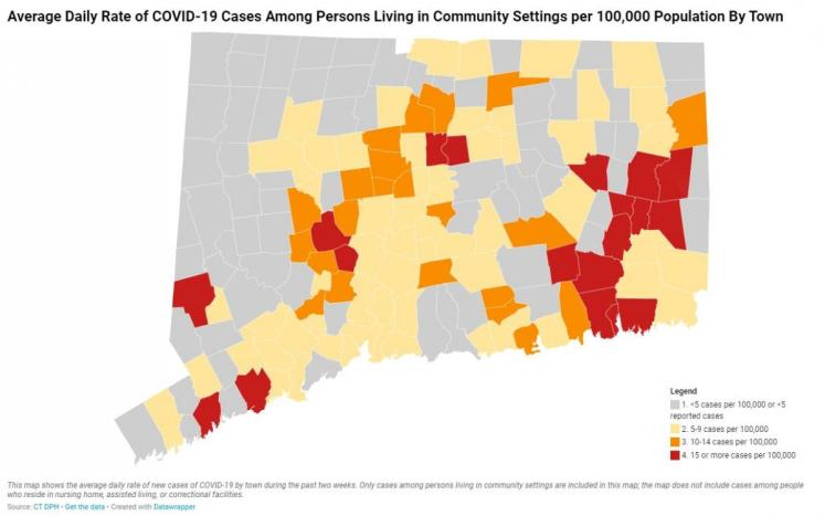 State DPH CT Map