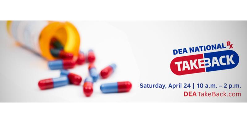 DEA's 20th Take Back Day